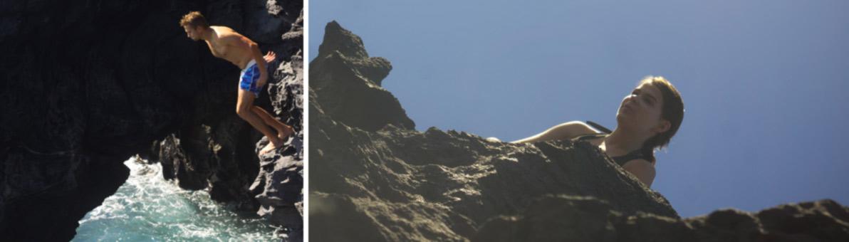 Šokinėjimas nuo uolų Tenerifėje